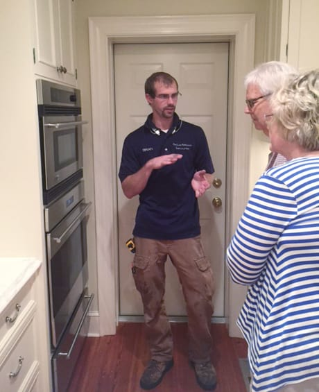 Our Employees take the time to walk you through your new appliances